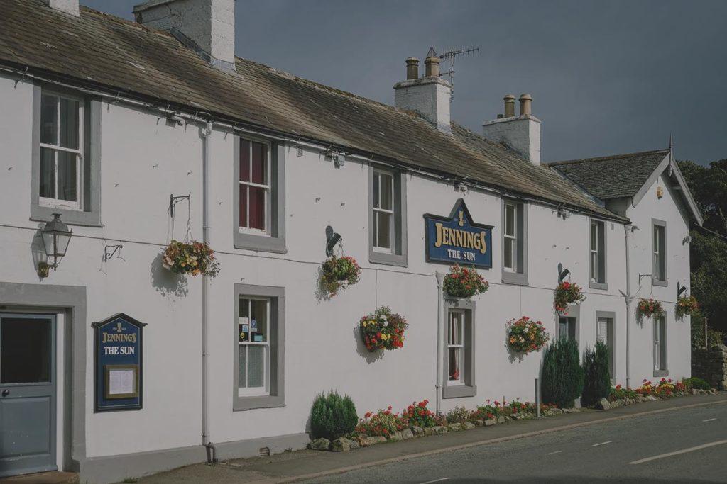 The Sun Inn Exterior