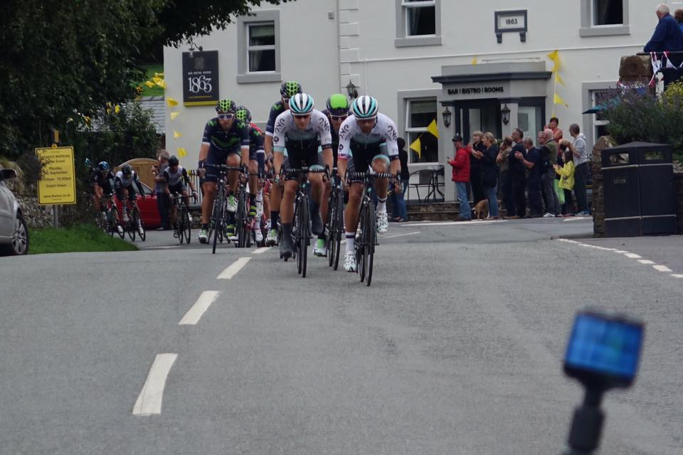 Tour of Britain through of Pooley Bridge