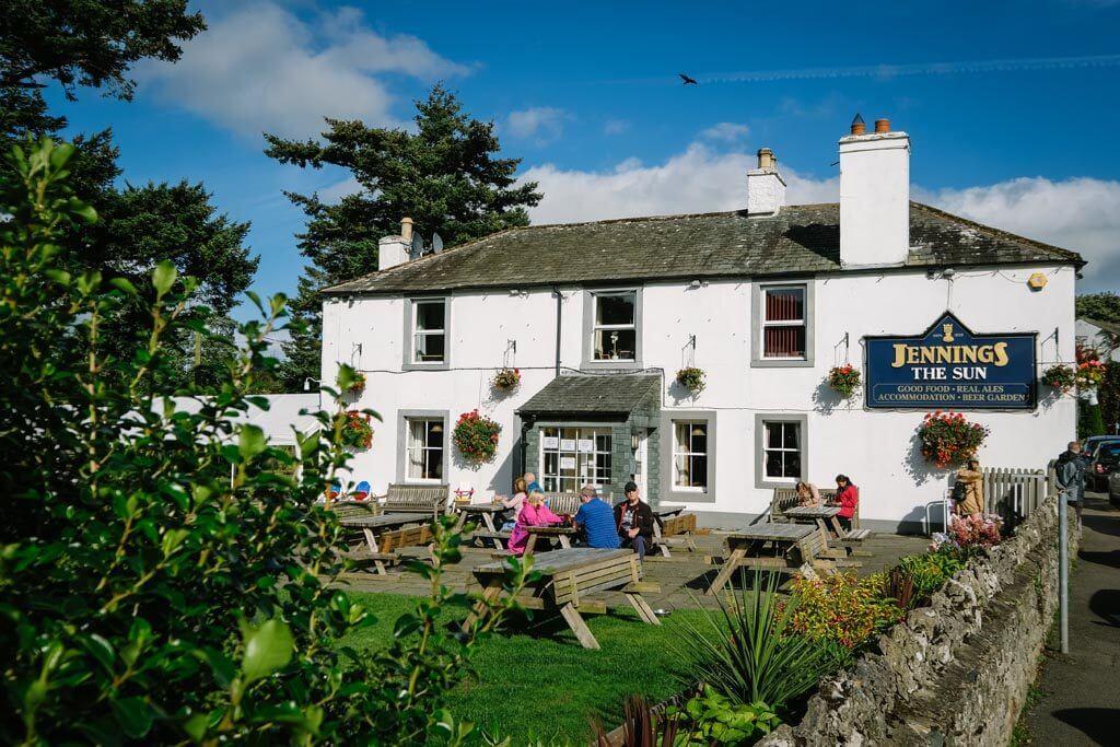 The Sun Inn Beer Garden