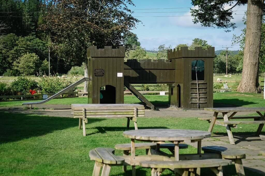 Children's play area at the Sun Inn